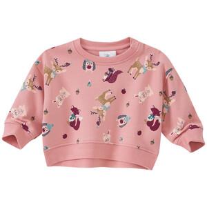 Baby Sweatshirt mit Tier-Allover