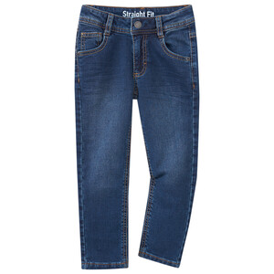 Jungen Straight-Jeans mit Used-Waschung