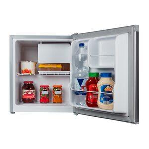MEDION Tischkühlschrank mit Eisfach MD 37136, 40 L Gesamt-Nutzinhalt, integriertes Eiswürfelfach, Geräuschpegel 42 dB