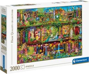 Clementoni® Puzzle »High Quality Collection - Das Garten-Regal«, Made in Europe, FSC® - schützt Wald - weltweit