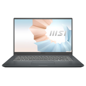"MSI Modern 15 A11SB-014 Carbon Grau - 15,6"" FullHD IPS, Intel i7-1165G7, 16GB RAM, 512GB SSD, NVIDIA GeForce MX450, Windows 10"