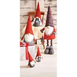 Weihnachtsglanz by casaNOVA Dekofigur Wichtel NORDIC WHISPER 86 cm Textil/Holz