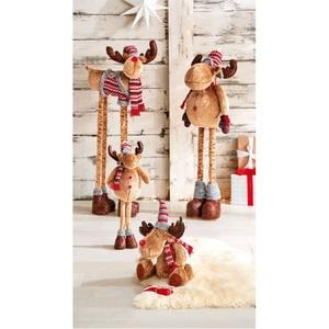Weihnachtsglanz by casaNOVA Weihnachtsdekofigur Elch NORDISCHER WINTER 67 cm