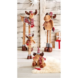 Weihnachtsglanz by casaNOVA Weihnachtsdekofigur Elch NORDISCHER WINTER 120 cm