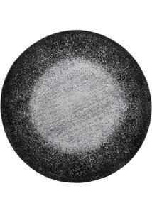 Runder Teppich mit Farbverlauf