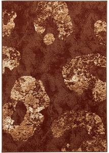 Teppich in warmen Farben