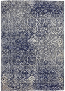 Teppich in Vintageoptik