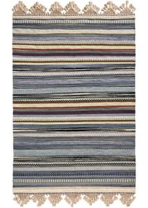 Kelim Teppich mit dekorativer Bordüre