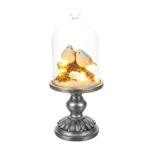 Winterszene mit LED, ca. 11x27cm
