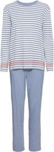 Schiesser Schlafanzug, Langarm, Baumwolle, für Damen