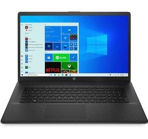 HP 17-cn0646ng jet black Notebook (i3-1115G4, 8 GB RAM, 512 GB SSD, Intel UHD, 17.3 Zoll FHD Antiglare IPS, Windows 10 Home, Schwarz)