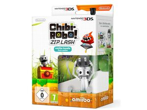 Nintendo Chibi-Robo! Zip Lash + amiibo Figur Chibo-Robo - Konsole 3DS