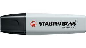 STABILO® Textmarker - STABILO BOSS ORIGINAL Pastel - Einzelstift - seidengrau