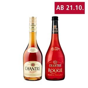 Chantré Weinbrand oder Cuvée Rouge 36/30 % Vol. jede 0,7-l-Flasche