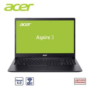 Aspire 3 A315-34-P7NR • Intel® Pentium® N5030 ( bis zu 3,1 GHz) • Acer ComfyView™ HD Display • Grafikkarte: Intel® UHD Graphics 605 • Stereo Lautsprecher, Webcam, Mikrofon, Bildschirmdi