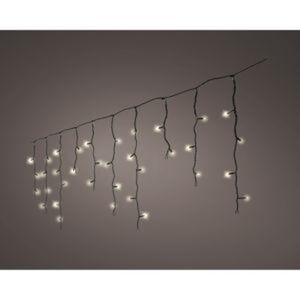 LED-Lichtervorhang 259 LEDs warmweiß 1100 cm