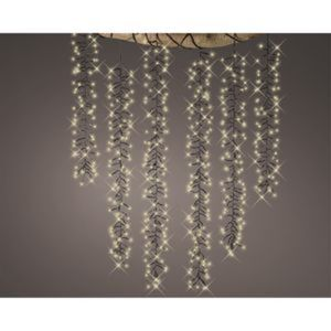 LED-Lianen-Lichterkette 480 LEDs warmweiß 6 Stränge 100 cm