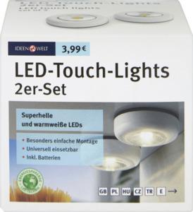 IDEENWELT Best Basics LED-Touch-Lights 2er Set