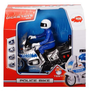 Dickie Toys Polizei Motorrad