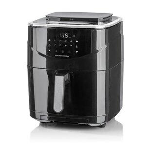 GOURMETmaxx Heißluft-Fritteuse Digital 6l 1700W schwarz mit Dampfgar-Funktion