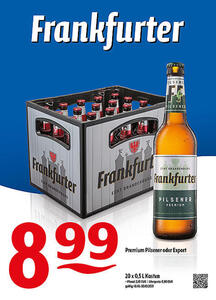 Frankfurter Premium Pilsener oder Export