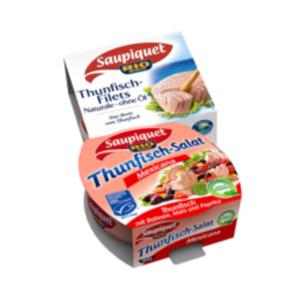 Saupiquet Thunfisch-Filets naturale, Sonnenblumenöl oder Salat