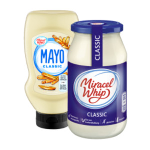 Miracel Whip oder Mayonnaise