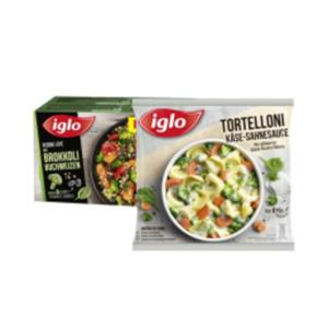 Iglo Pfannengerichte oder Veggie Love
