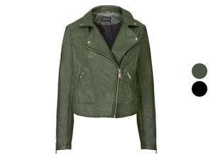 ESMARA® Biker Jacke Damen, in angesagter Lederoptik