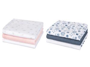 LUPILU® Baby Mulltücher, 3 Stück, aus reiner Baumwolle
