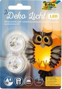 folia Deko-Licht LED 2er Set