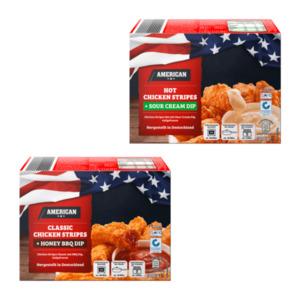 AMERICAN     Chicken Stripes