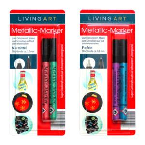 LIVING ART     Metallic-Marker