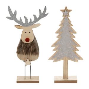 LIVING ART     Weihnachtliche Holzdekoration