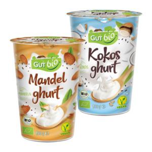 GUT BIO     Bio-Mandelghurt / - Kokosghurt