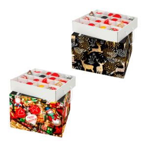 LIVING ART Weihnachtskugelbox