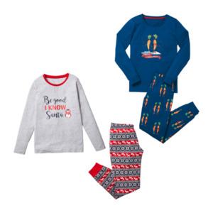 QUEENTEX Weihnachts-Pyjama