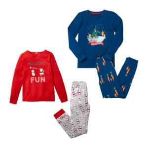 POCOPIANO Weihnachts-Pyjama