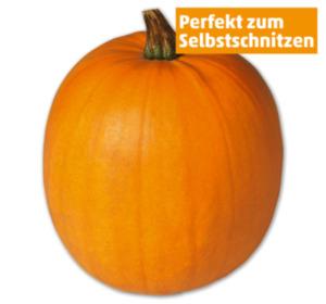 Deutscher Halloweenkürbis