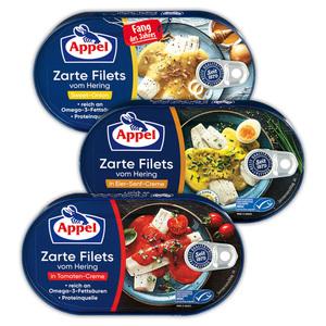 Appel Zarte Filets vom Hering