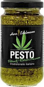 Herr Edelmann Pesto Hanf-Basilikum 190G