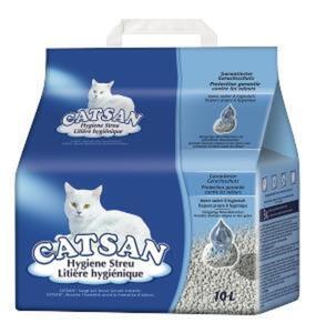 Catsan Hygiene Plus Katzenstreu 9L