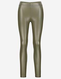 Damen Leggings - Lederoptik