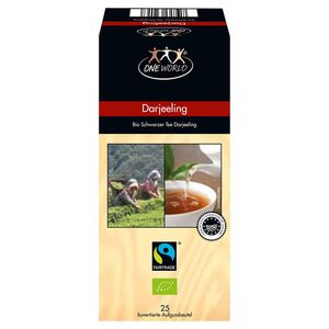 ONE WORLD® Fairtrade®  Bio-Tee 50 g