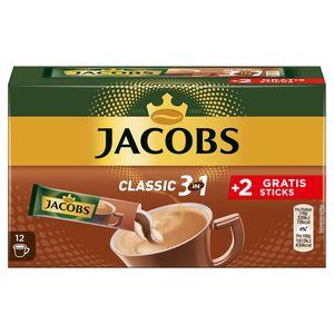 JACOBS®  Kaffeesticks 10 + 2 gratis 216 g