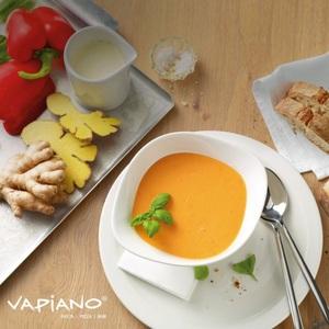 Villeroy & Boch Suppenschalen-Set VAPIANO 2-teilig weiß