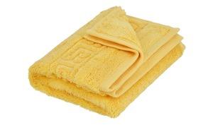 CaWö Gästetuch  1001 gelb 100% Baumwolle Maße (cm): B: 30 Heimtextilien