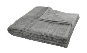LAVIDA Duschtuch  Soft Cotton grau reine Micro-Baumwolle, Baumwolle Maße (cm): B: 70 Heimtextilien