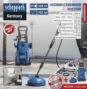Scheppach Hochdruckreiniger HCE2200
