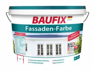 Baufix Fassadenfarbe